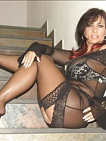 man and women in stockings fuck