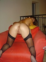 teen maid in stockings