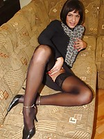 girls in stockings sheer