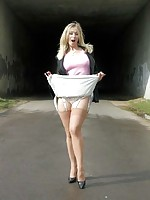 housewife stockings heels uk