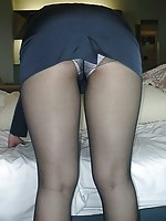 pictures of girls from uk in stockings