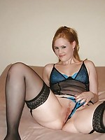 hot wife in stockings